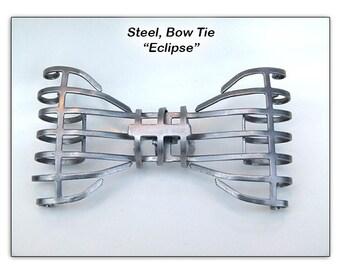 "Steel, Bow Tie ""Eclipse"""