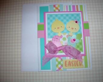 Easter Card Handmade Spring Greeting EASTER