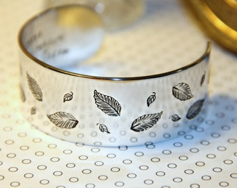 Prestamped Cuff   Gift For Her   Secret Message Bracelet   Daughter Birthday Gift   Hand Stamped   Inspirational Christian Jewelry
