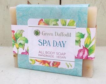Spa Day Bar of Soap - Green Daffodil