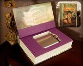 Hollow Book Safe & Flask - Harry Potter and The Goblet of Fire - Secret Book Safe