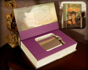 Hollow Book Safe & Flask (Harry Potter and The Goblet of Fire)