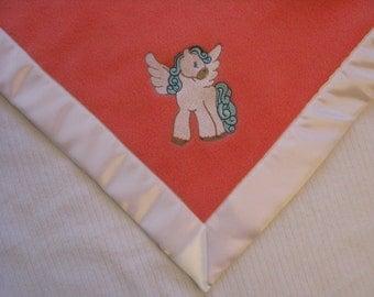 Baby Blanket, Baby, Blanket, Car Seat Blanket, Stroller Blanket, Pegasus Blanket, Embroidered Blanket, Keepsake Blanket