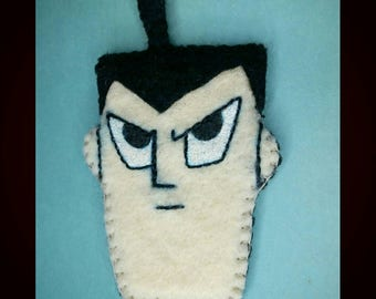 Samurai Jack magnet, cartoon magnet