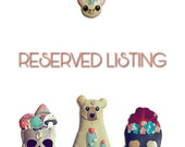 RESERVED LISTING - Bat Pin