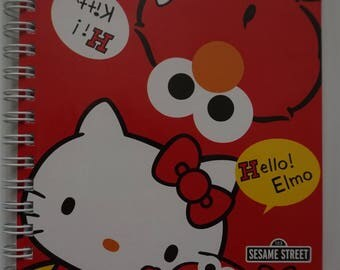 Sesame Street Elmo x Hello Kitty Notebook