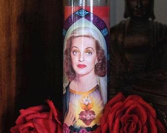 Saint Bette Prayer Candle / Bette Davis / All About Eve / Feud