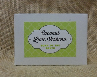 Coconut Lime Verbena Shea Butter Soap Bar