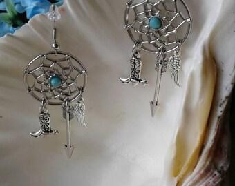 Large Dreamcatcher Earrings