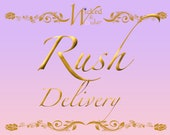 RUSH MY ORDER - Rush Delivery for Wicked & Wonder Shop Costume or Items