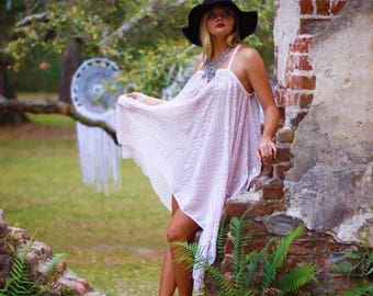 Os Boho Gypsy Tunic Dress, Wanderlust, Bohemian Magnolia Lace Pearl, Boho Dresses Stevie Nicks Style, Festival Clothing, True Rebel Clothing