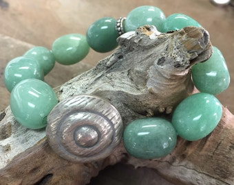Chakra Bracelet with Jade