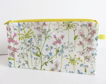 Liberty Lawn 'Theodora D' Zippered Pencil Case