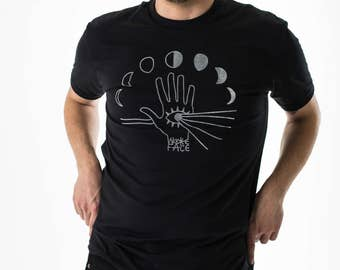 Moon Phase Lightworker T-Shirt