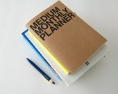 Monthly planner -medium size