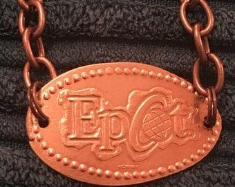 Epcot pressed penny bracelet