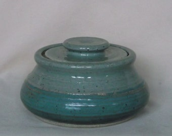 Green and Turquoise Jar