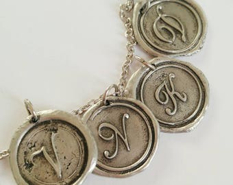 MOTHERS DAY Gift Idea // Gift for HER //monogram charms