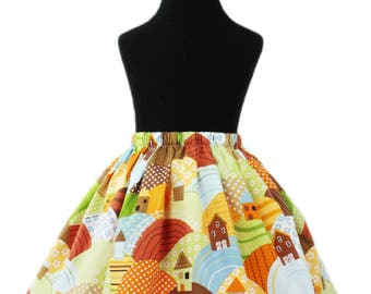 Girl's Prairie Hills Spring Skirt
