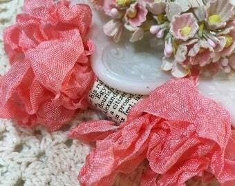 Shabby Cora Crinkled Seam Binding Trim
