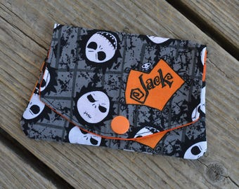 Jack Skellington / The Nightmare before Christmas grab-n-go credit card wallet