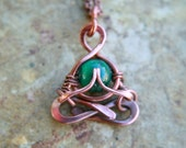 yoga, namaste, Little Yogi, mini, yoga pendant, Malachite, hammered copper, people, meditation, Lotus, mudra, zen, lemurian diamond, Bibi