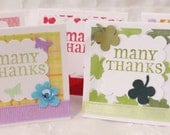 80 Mini Thank You Cards Spring and Summer Themes Customer Order