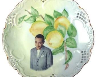 """Pee-wee Herman Portrait Plate 8.25"""""""