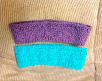 The Marina- Chevron Knit Headband- Pick Your Color - Cotton Elastic Blend