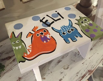 monster step stool - creature step sto