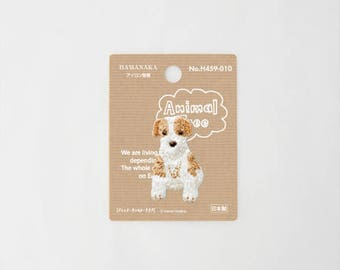 Animals wappen Jack Russell Terrier Iron on Embroidery Patch Applique from Japan H441-010
