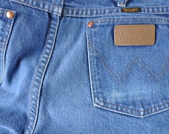 US made Wrangler jeans 1970s 1980s for men 36x33