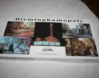 Vintage Birminghamopoly Board Game Birmingham, Michigan Monopoly Game 1989