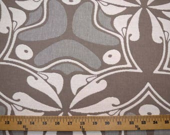 Taupe Grey Upholstery Fabric