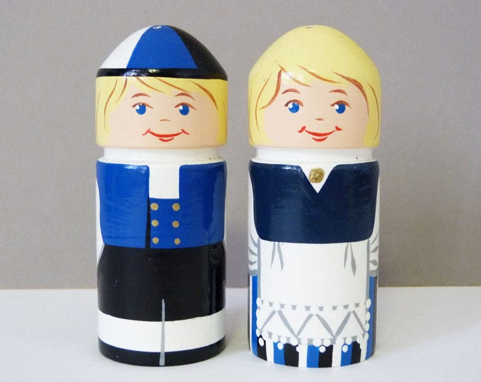 Vintage Swedish salt and pepper pots