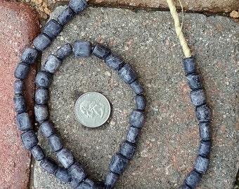 Ghana Bone Beads: 10x10mm