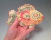 Decorative tile/fish/Ceramic tile/fish tile/fish decor/decorative tile/handmade clay tile/fish/wall hanging