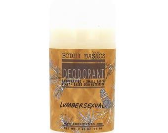 Lumbersexual Organic Deodorant