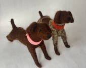 Needle Felted German Shorthair Pointers Special Order