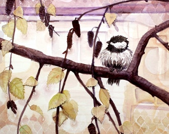 Original Watercolour Painting - After a Rain