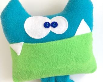 Soft Monster Plush - Tooth Fairy Pillow - Tooth Fairy - Soft Plush Monster - Tooth Fairy Visit - Tooth Chart - Keepsake Pillow - Kids Gift