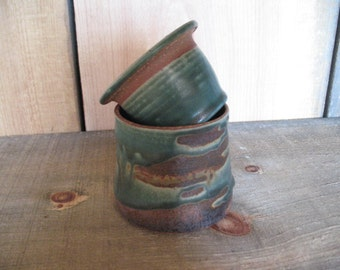 French Butter Dish, Hand Thrown Stoneware Pottery, by Jennie Blair, kitchen, home