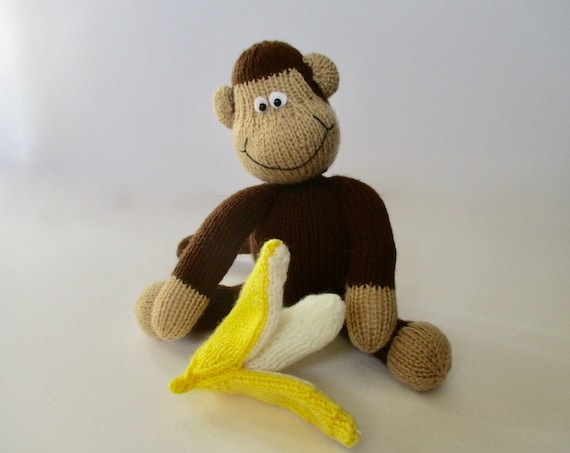 Norwood Monkey toy knitting patterns