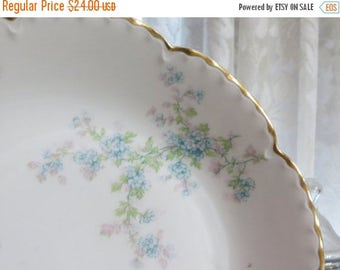 Store Closing SALE Antique Limoges -Haviland-Serving Bowl-French-Shabby Cottage Chic-Schleiger 29M