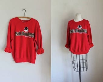vintage 1980s sweatshirt - GAH, HUMBUG minneapolis souvenir shirt / M-L
