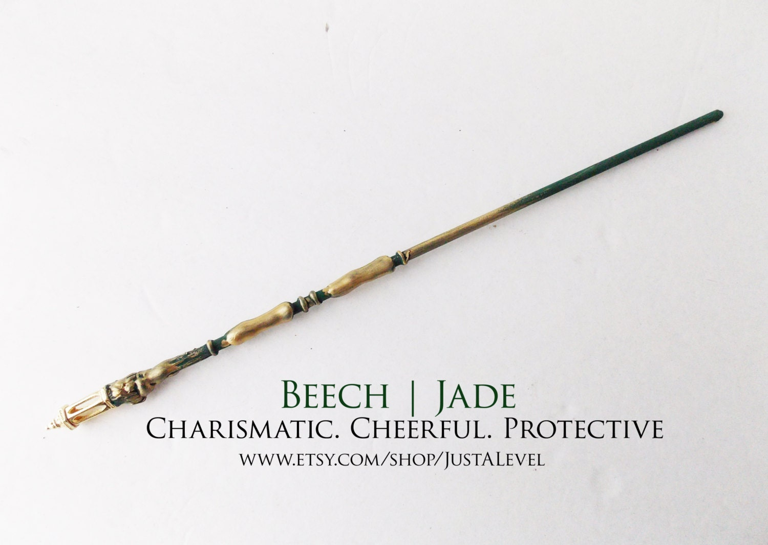 Green finch fiction inspired wand personality trait by for Wand designs