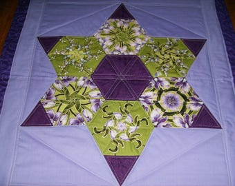 Star Stack N Whack Quilted Wall Hanging