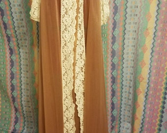 Vintage Lingerie robe, dressing gown, housecoat, duster