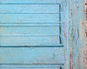 magnetic Photography Backdrop Floordrop vintage light blue door (bulgaria)