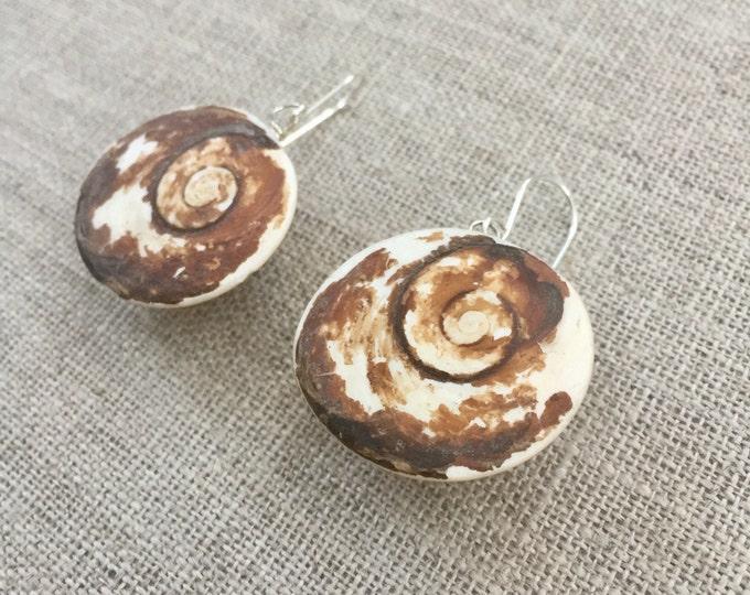 Shiva Eve Shell Earrings